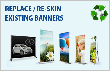 Replacement Banners