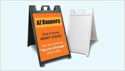 A-frame-sign