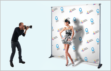 Vinyl Step and Repeat Banner