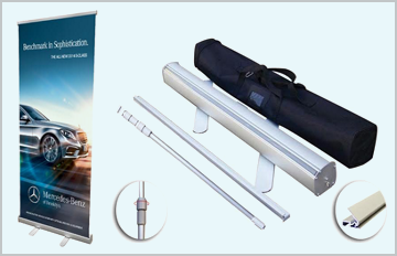 Pop-Up Retractable Banner