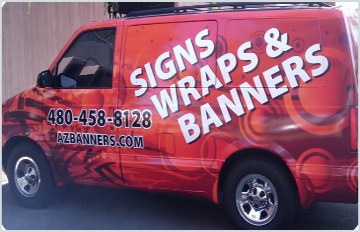 Custom Vehicle Graphics Phoenix Scottsdale Tempe Mesa
