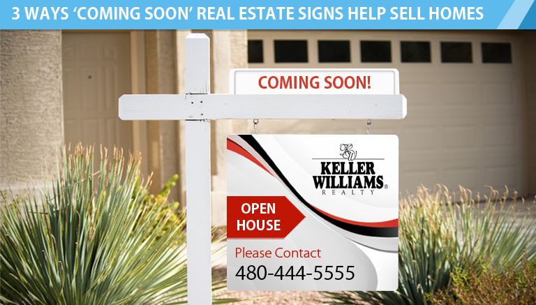Coming Soon Real Estate Signs