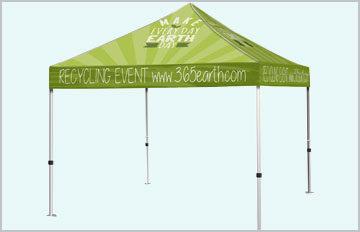 Custom Outdoor Pop Up Shade Tent