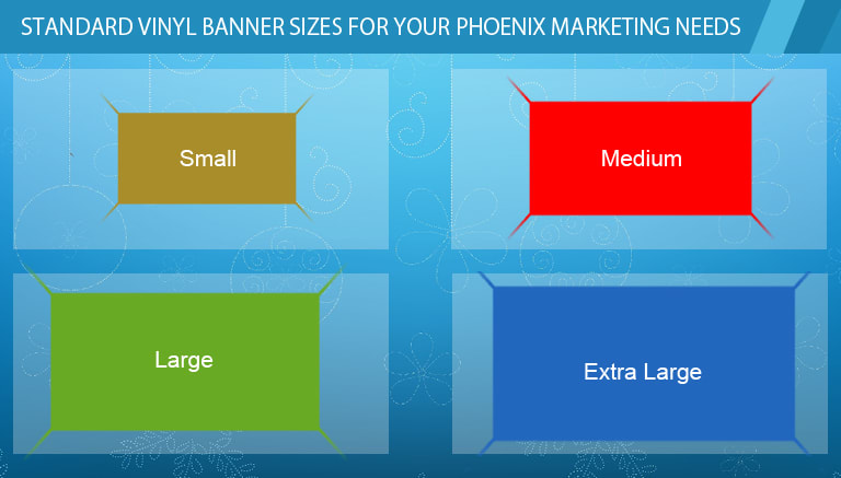 standard vinyl banner sizes for your phoenix marketing needs