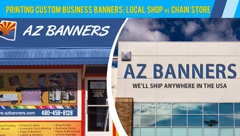 Custom Vinyl Banners Archives AZ Banners - Vinyl business banners