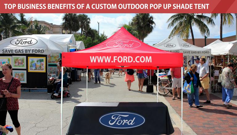 Outdoor Pop Up Shade Tent