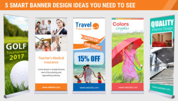 5 Smart Banner Design Ideas You Need To See