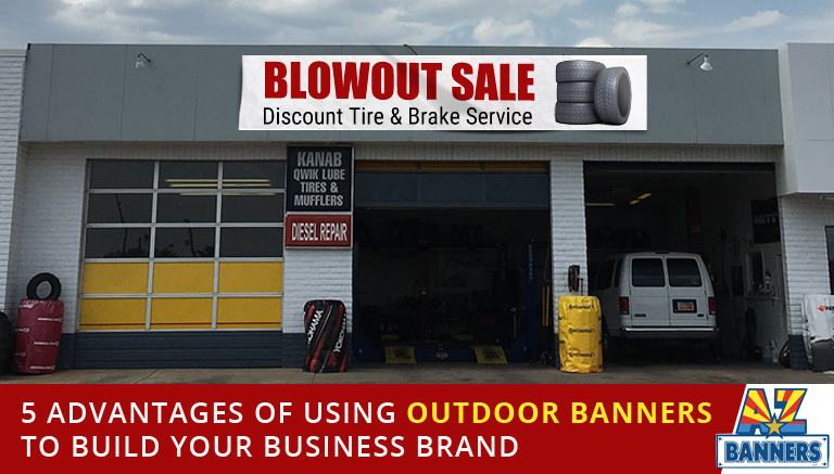Advantage of outdoor banners
