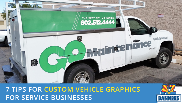 7 tips for custom vehicle graphics and wraps near me