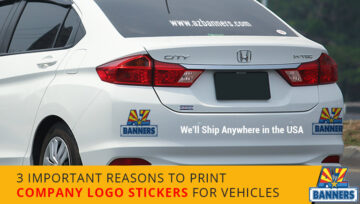 3 Important Reasons to Print Company Logo Stickers for Vehicles