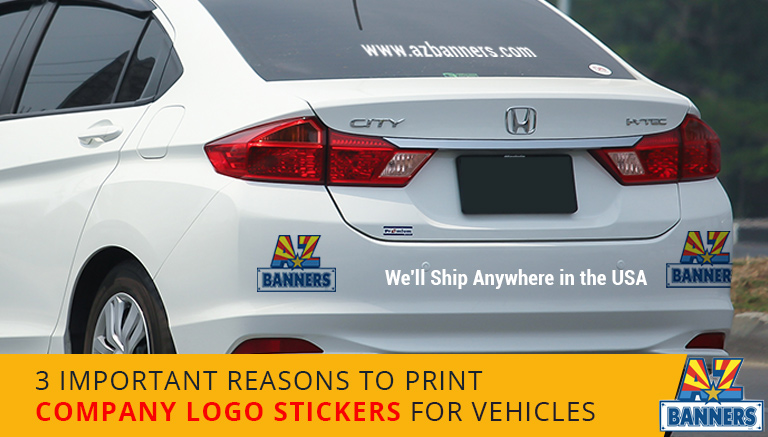 3 Important Reasons To Print Company Logo Stickers For