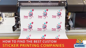 How to Find the Best Custom Sticker Printing Companies