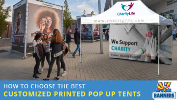 How to Choose the Best Customized Printed Pop Up Tents: 3 Questions to Ask