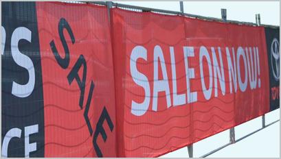 1 Outdoor Mesh Banners In Scottsdale Phoenix Mesa