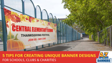 5 Tips For Creating Unique Banner Designs For Schools, Clubs & Charities