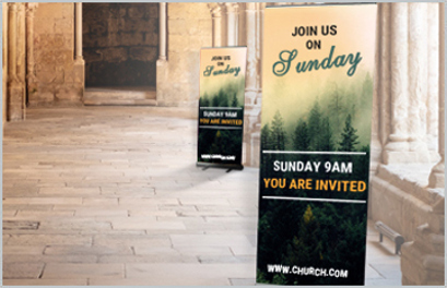 Banners & Signs for Churches & Places of Worship