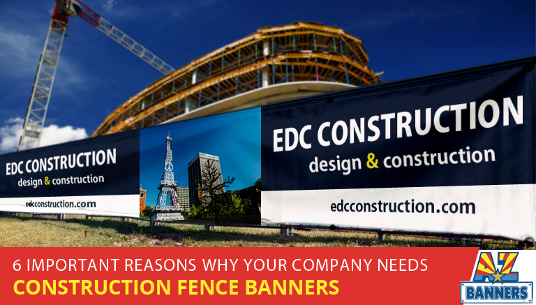 Construction Fence Banners and Signs