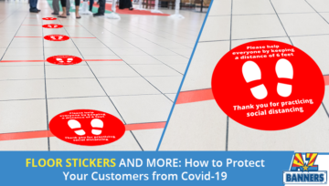 Floor Stickers and More: How to Protect Your Customers from COVID-19