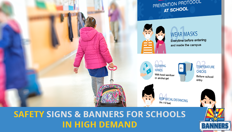 Safety Signs Banners for Schools