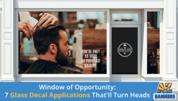 Window of Opportunity: 7 Glass Decal Applications That'll Turn Heads
