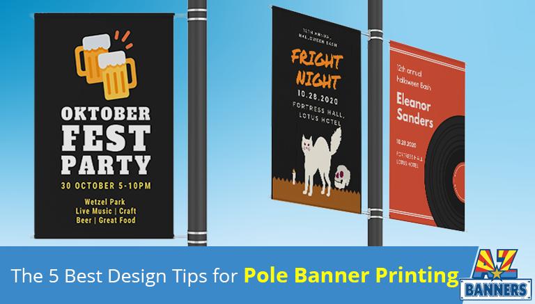 Pole Banner Printing tips