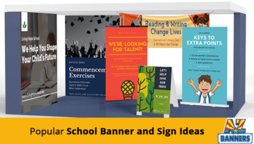 8 Popular School Banner and Sign Ideas